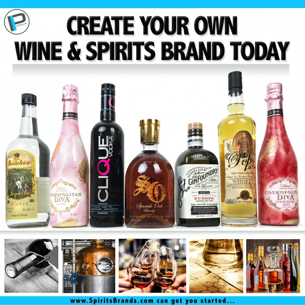 Create Your Own Wine & Spirits Brand Today