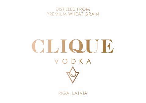 Clique Vodka Logo