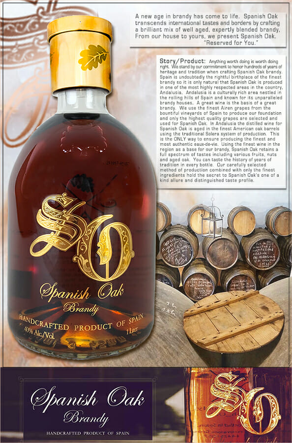 Spanish Oak Brandy