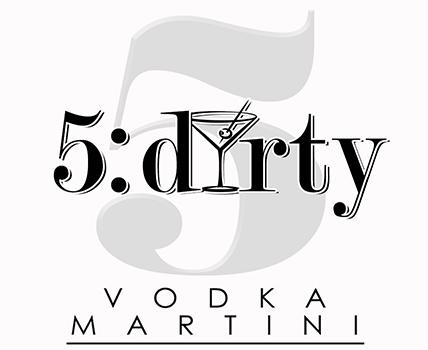 5:dirty Vodka Martini Logo