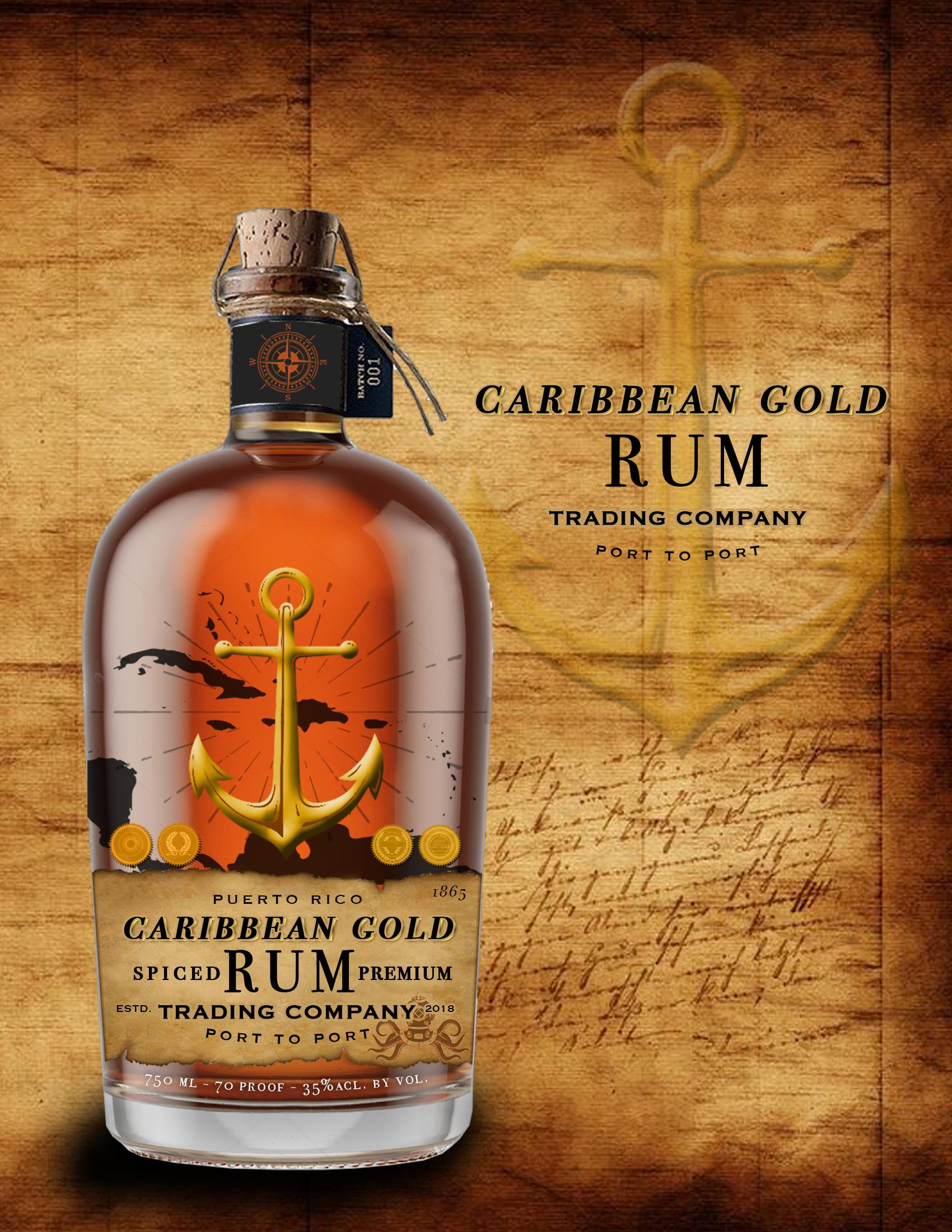 Caribbean Gold Rum